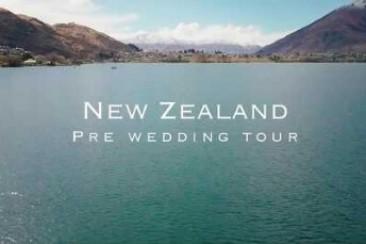 New Zealand Prewedding Photoshoot Highlight 新西兰婚纱旅拍