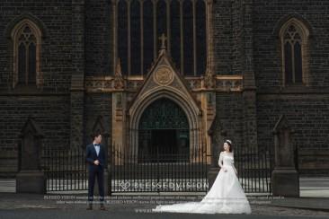来到墨尔本,St Patrick教堂婚纱照一定要有!
