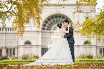 来到墨尔本,Carlton Garden(卡尔顿花园)婚纱照一定要有!