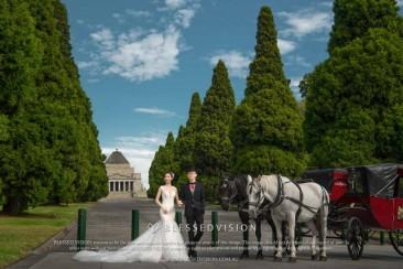 澳洲婚纱照拍摄个人经验 – 墨尔本
