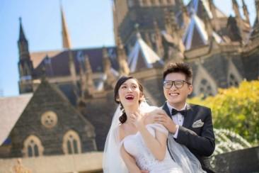 澳洲 墨尔本旅拍婚纱照 拍摄地点分享
