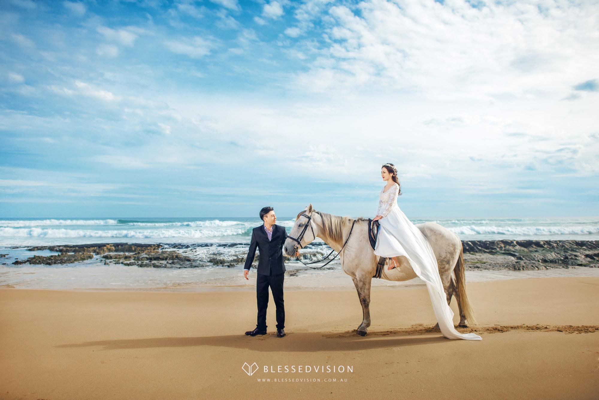 mornington horse riding Gunnamatta Trail Rides Pre wedding Blessed Vision Melbourne Prewedding Photography 墨尔本 婚纱摄影 婚纱照 婚礼跟拍-1-2